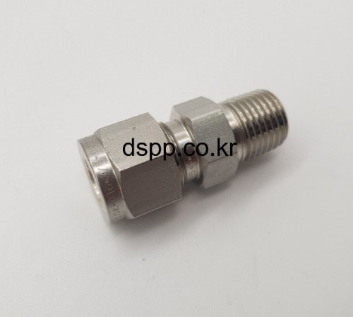 TUBE FITTING,튜브피팅, LOK FITTING, 락피팅, T-LOK, 투페럴 피팅, SUS 316L 피팅,가스용피팅,고압용피팅,메일 콘넥타, TMC(Male Connector) INCH사이즈